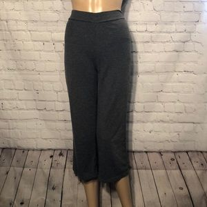 Athletic Works Gray Cropped Yoga Workout Pants M